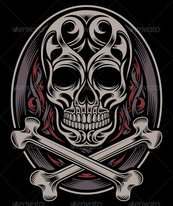 GraphicRiver Skull and Crossbones 6015174