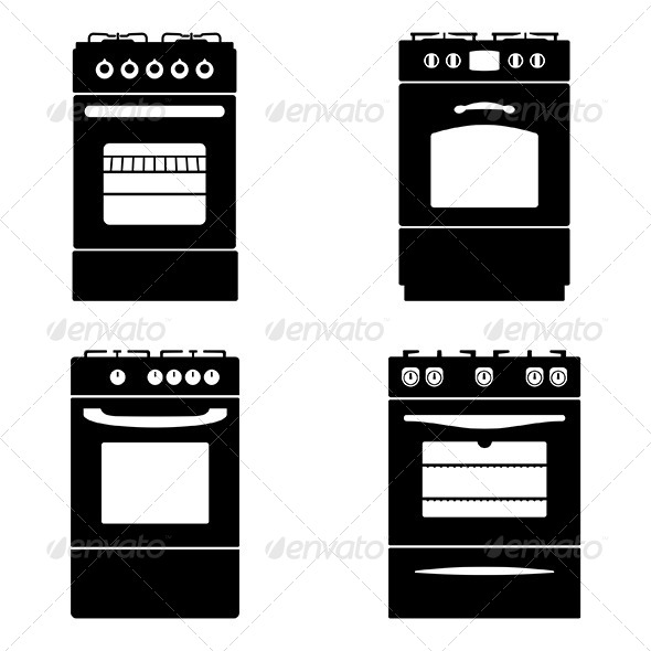 GraphicRiver Gas Stoves 6015868