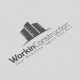 Workin Construction Logo - GraphicRiver Item for Sale