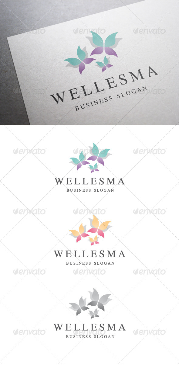 GraphicRiver Wellesma Logo V2 6017304