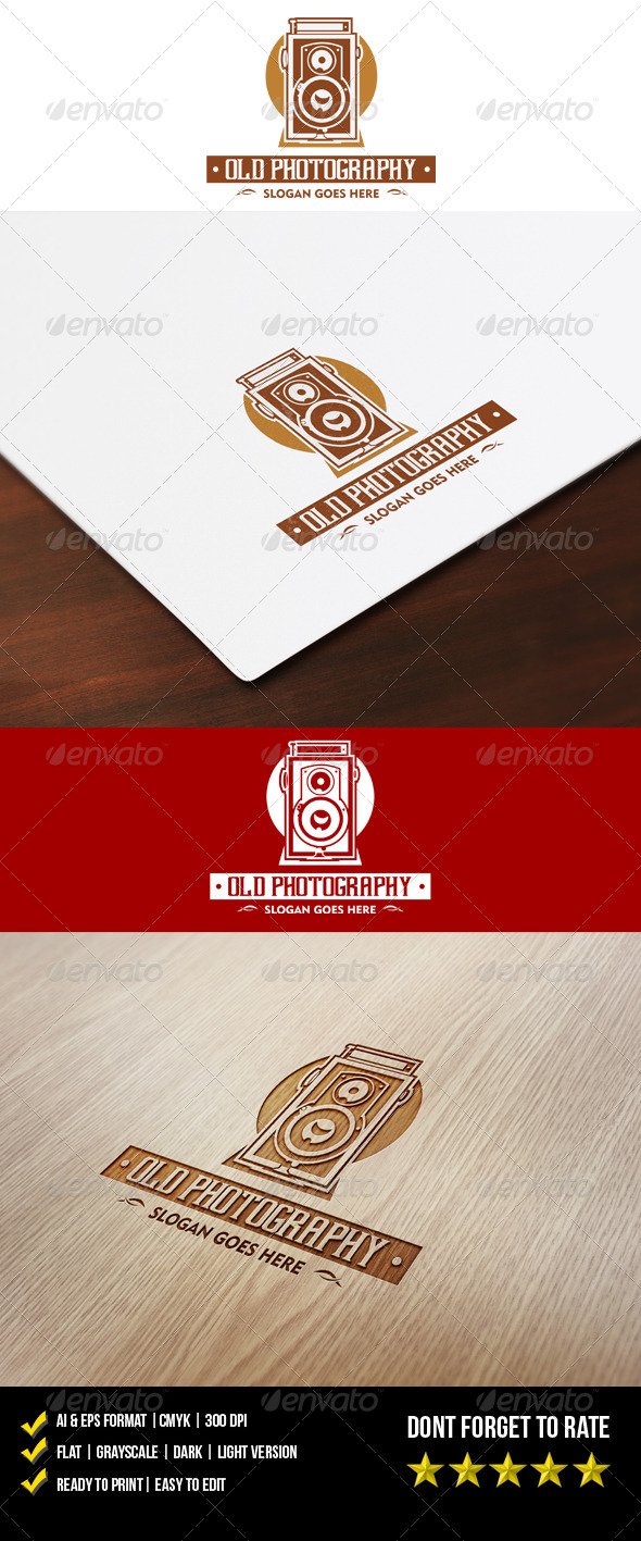 GraphicRiver Old Photography Logo 6017541