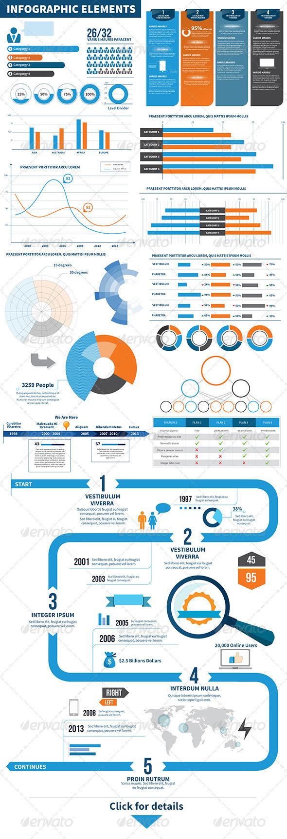 GraphicRiver Infographic Elements Statistics 6017955