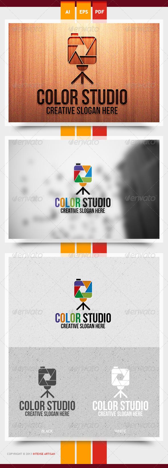 GraphicRiver Color Studio Logo Template 6018357