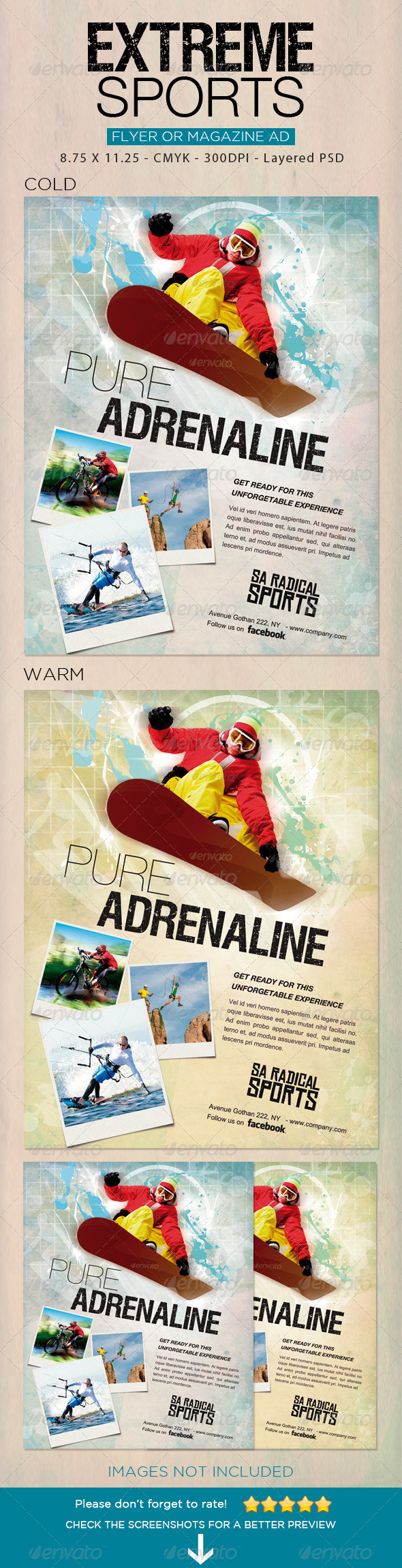 GraphicRiver Extreme Sports flyer 2 6018441