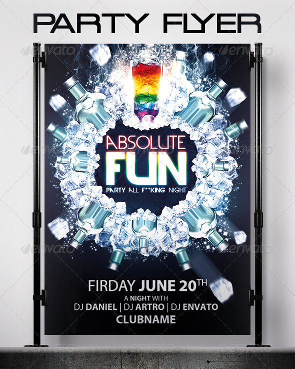 GraphicRiver Absolute Fun Flyer 6000962