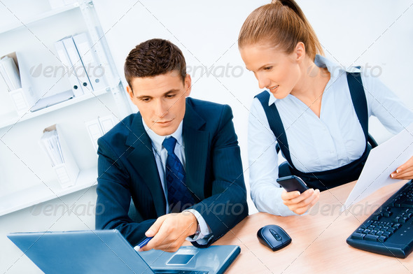 Businesspeople portrait - Stock Photo - Images