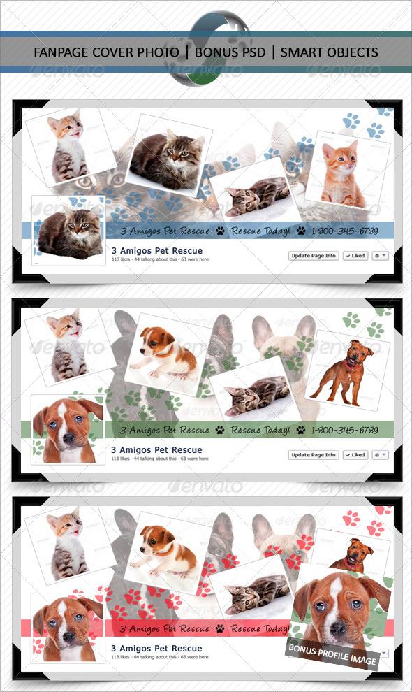 GraphicRiver Pet Shop Fanpage Cover Photo 6011725