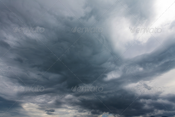 Storm clouds - Stock Photo - Images
