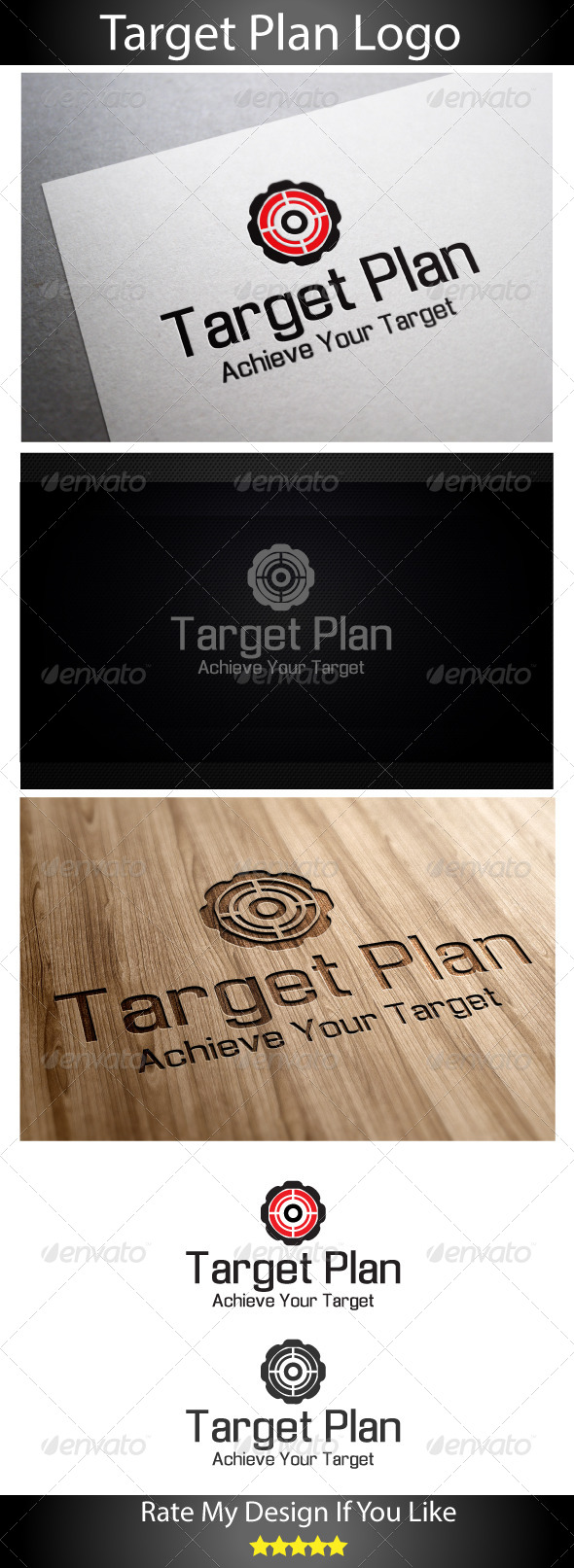 GraphicRiver Global Target Plan 6019651