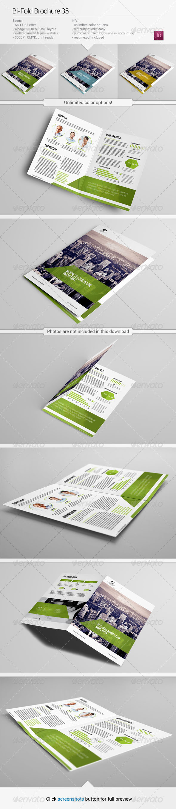 GraphicRiver Bi-Fold Brochure 35 6020266