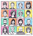 Drawn Faces - PhotoDune Item for Sale