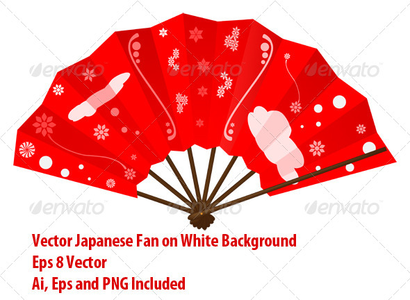 GraphicRiver Japanese Fan 6020751