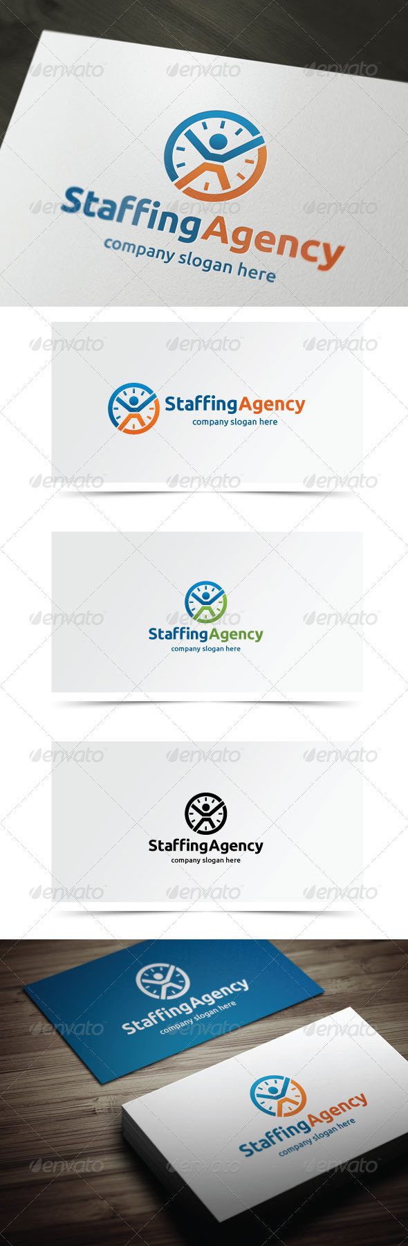 GraphicRiver Staffing Agency 6020993