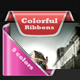 Colorful Ribbons Web