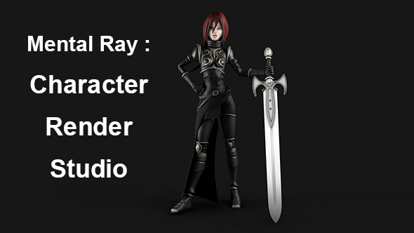 Character Render Studio - Mental Ray - 3DOcean Item for Sale