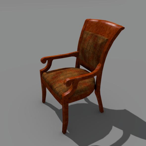 3DOcean Old Chair 6021940