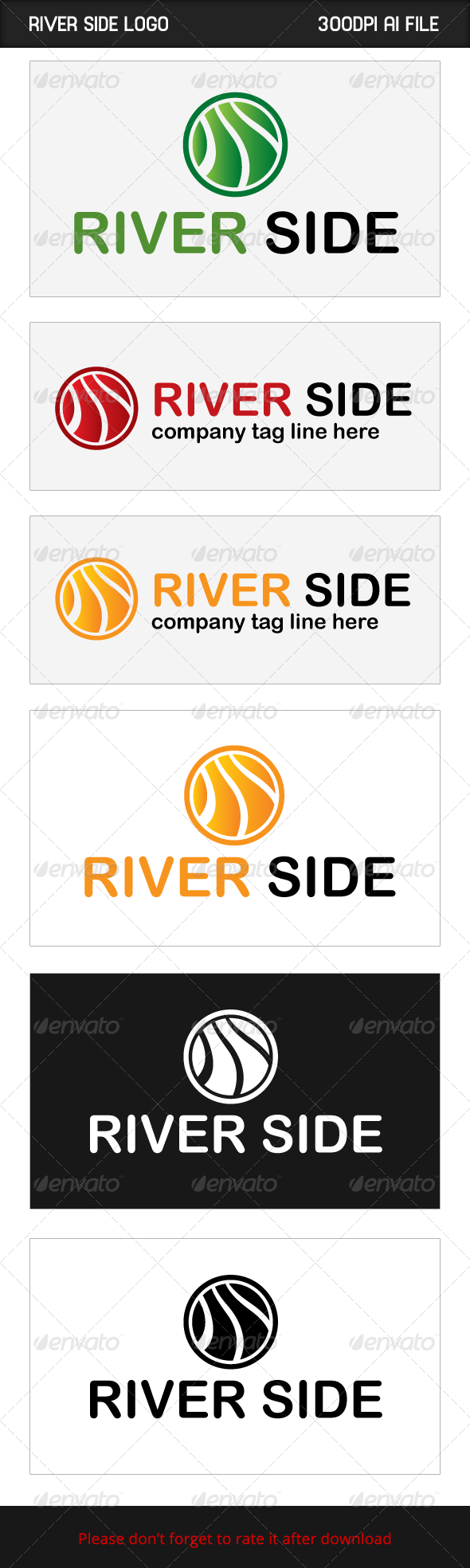 GraphicRiver River Side 6022030
