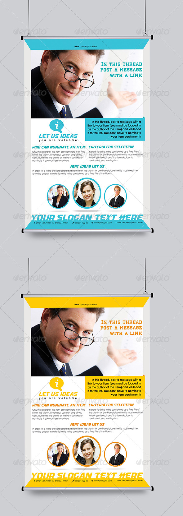 GraphicRiver Let Us Ideas Flyer Template 5994756