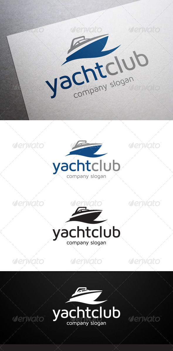 GraphicRiver Yacht Club Logo 6023342