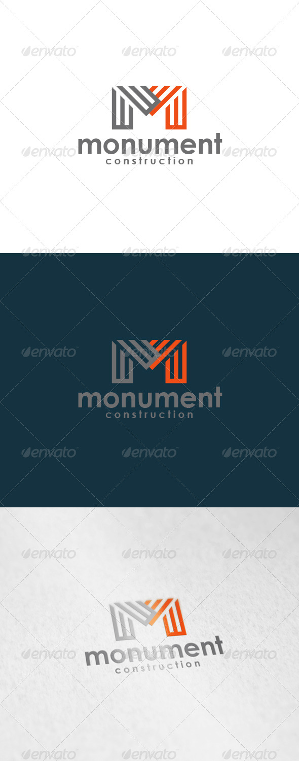 GraphicRiver Monument Logo 6023436