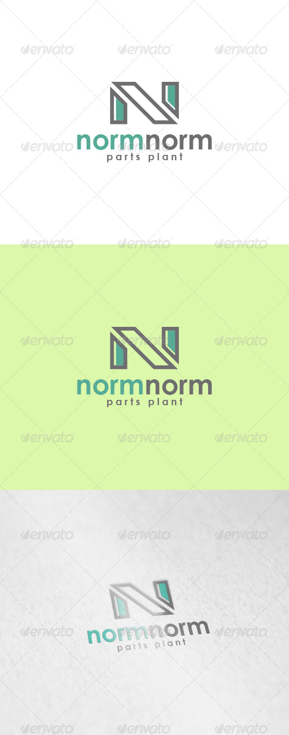 Normnorm Logo - Letters Logo Templates