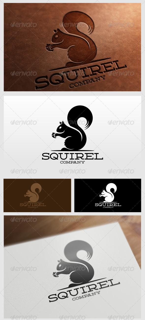 GraphicRiver Squirel Logo Template 6025913