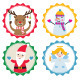 Christmas Design Elements Set - GraphicRiver Item for Sale