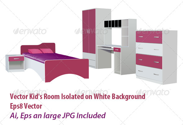 GraphicRiver Kids Room 6028572