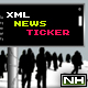 FLASH XML NEWS TICKER - STV - ActiveDen Item for Sale