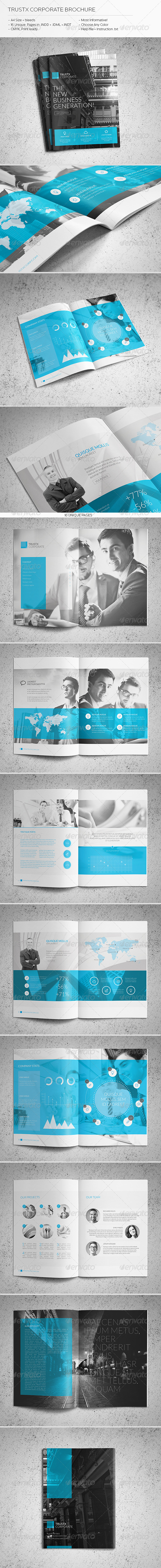 GraphicRiver Trustx Corporate Brochure 6029666