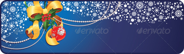 GraphicRiver Christmas and New Year Banner 6029781