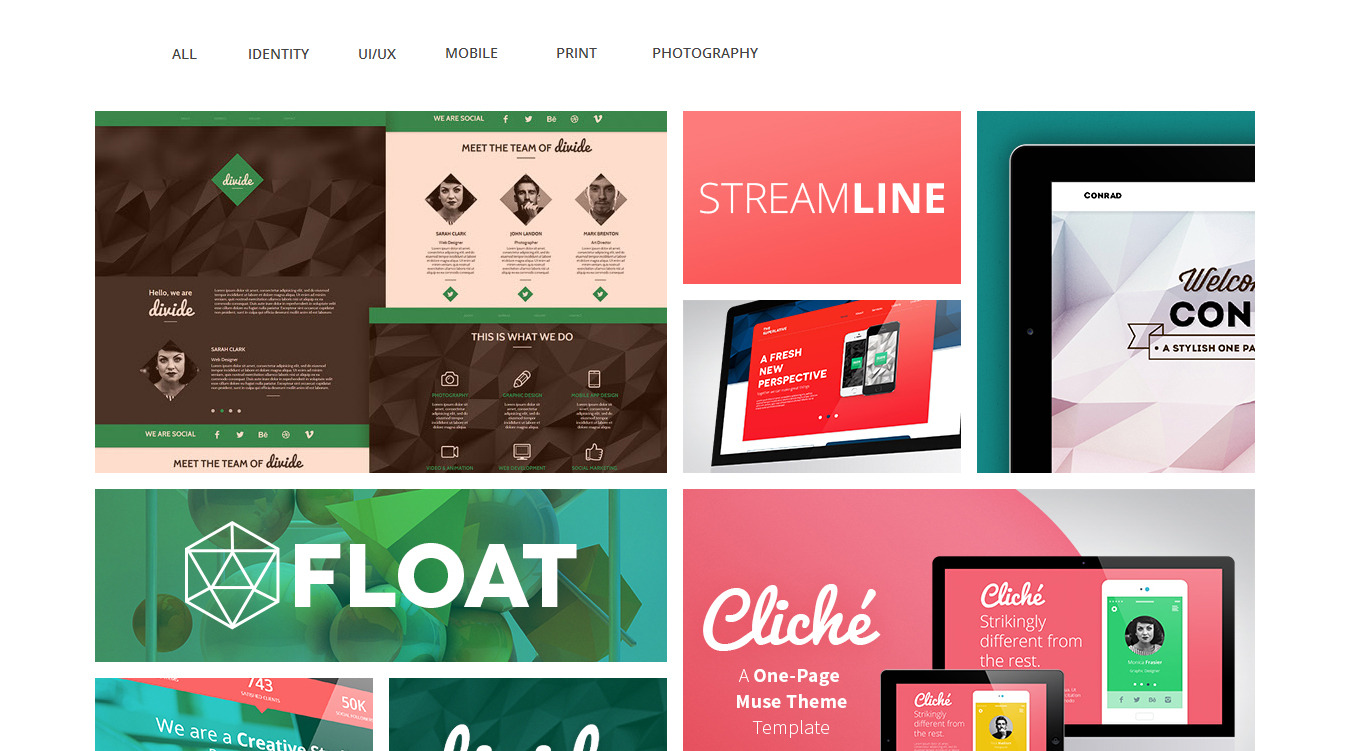 StreamLine - A Multipurpose Muse Template