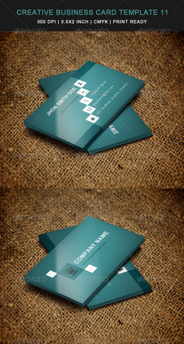 GraphicRiver Creative Business Card Template 05 6030885