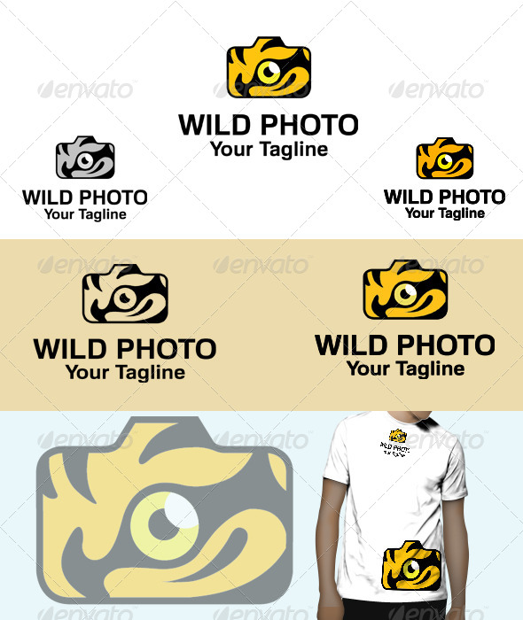 GraphicRiver Wild Photo Logo 6031501