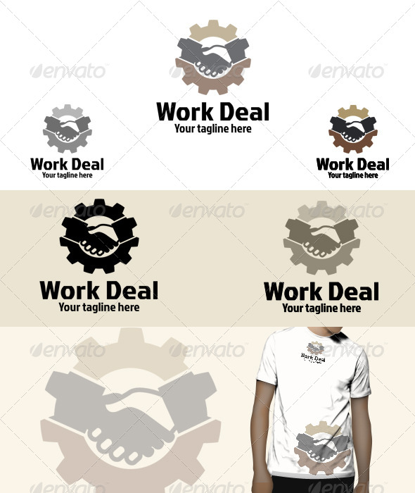 GraphicRiver Work Deal Logo 6031517