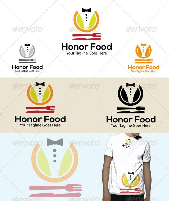 GraphicRiver Honor Food Logo 6031569