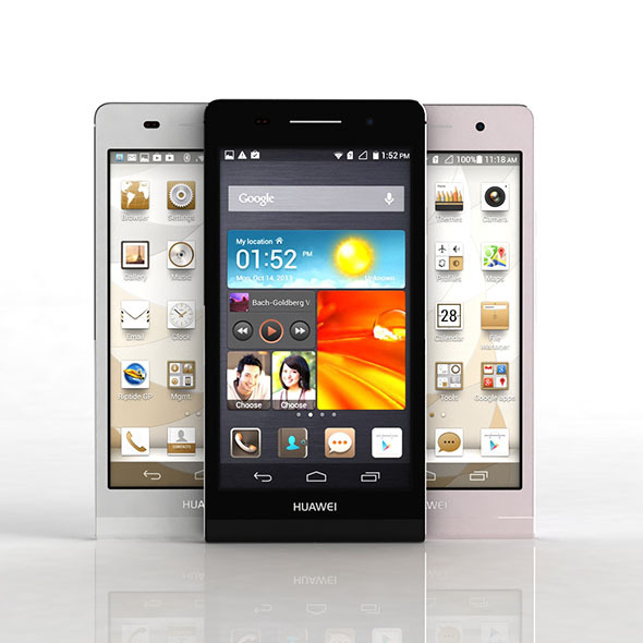 3DOcean Huawei Ascend P6 6032666