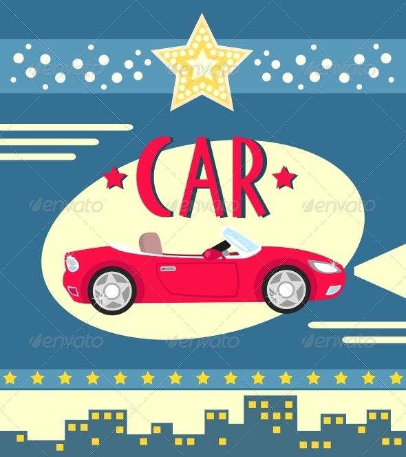 GraphicRiver Car Poster 6033663