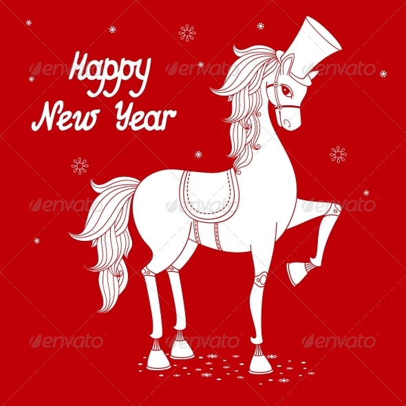 GraphicRiver Year of the Horse 6033675