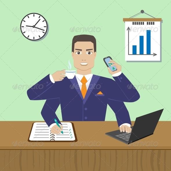 GraphicRiver Employee 6033701