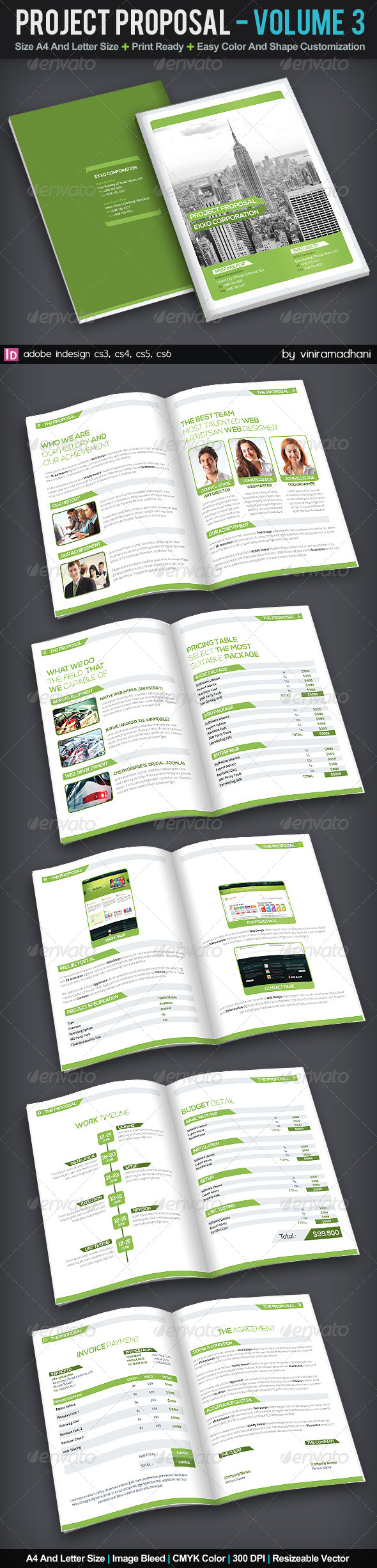 GraphicRiver Proposal Template Volume 3 6034290
