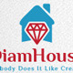 Diamond House Logo - GraphicRiver Item for Sale