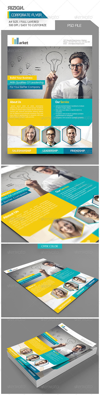 GraphicRiver Corporate Flyer 6034730