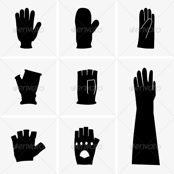 GraphicRiver Gloves 6034823