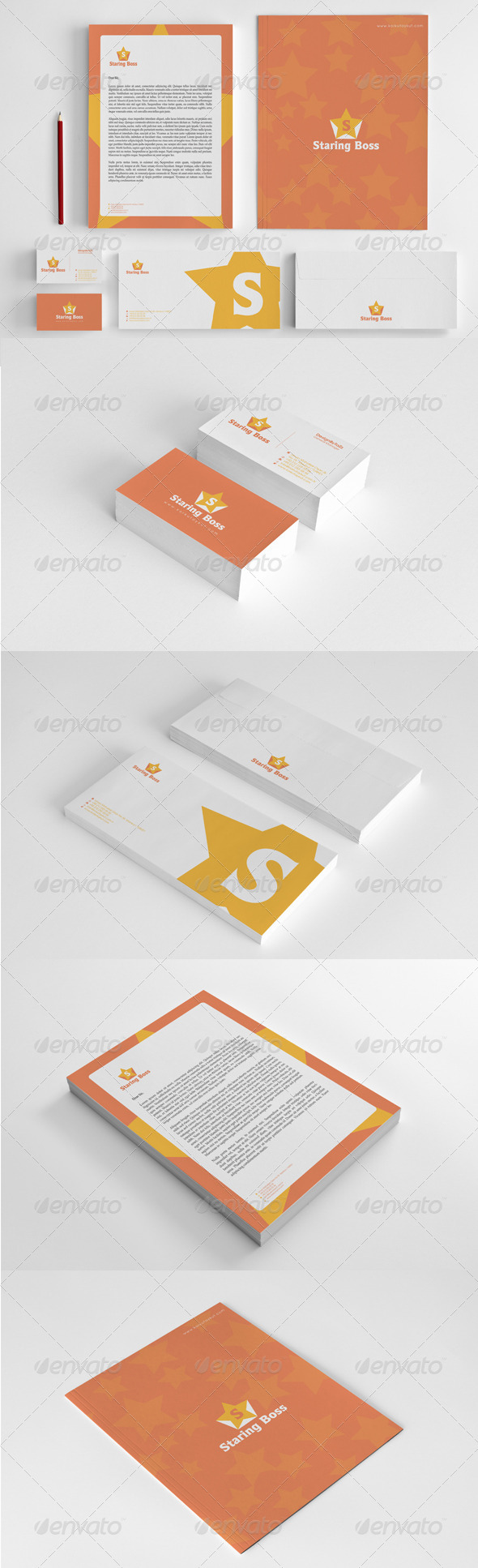 GraphicRiver Staring Boss Corporate Identity Package 5964488