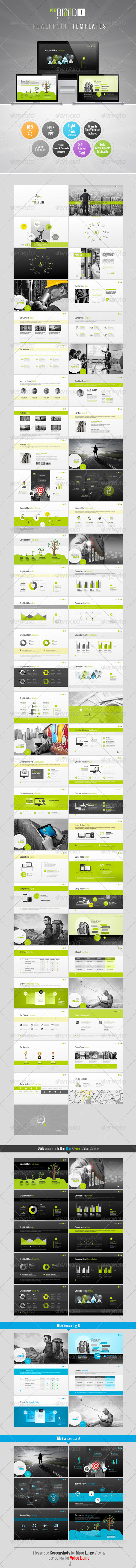 GraphicRiver ProBrand PowerPoint Templates 6035121
