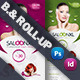 Beauty Saloon Billboard Roll-Up Template - GraphicRiver Item for Sale