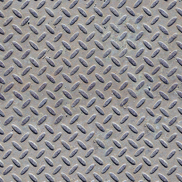 Seamless Diamond Patterned Steel Floor Or Wall GraphicRiver