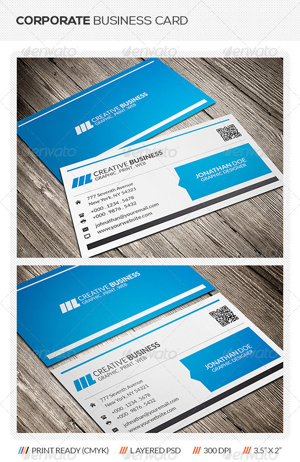 GraphicRiver Corporate Business Card 5997999