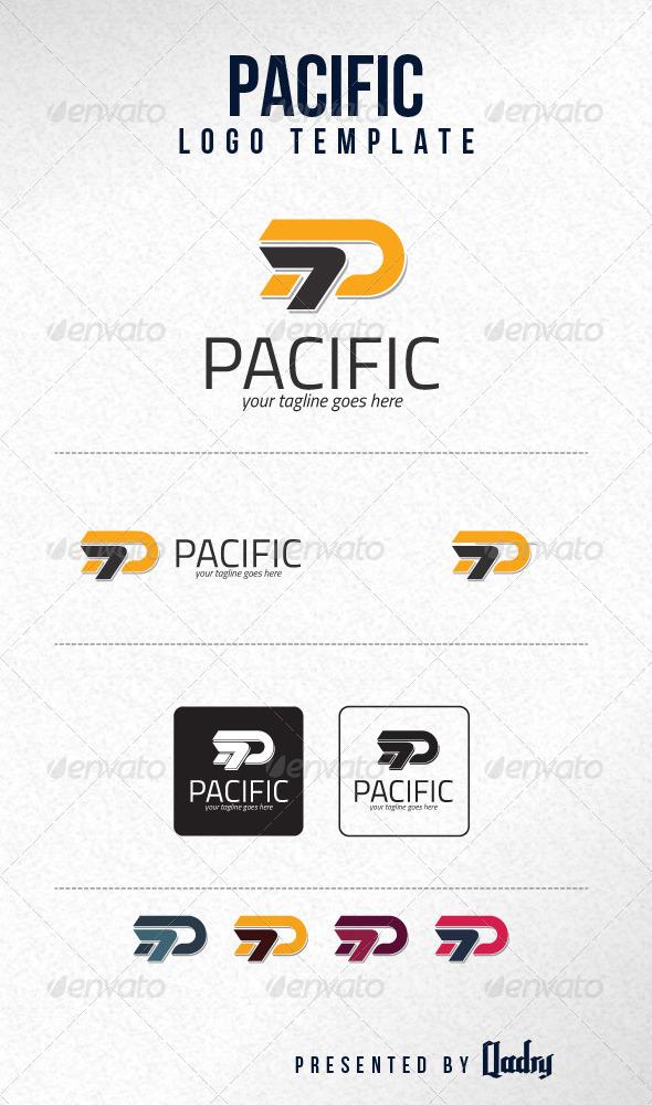 GraphicRiver Pacific Logo Template 6036048